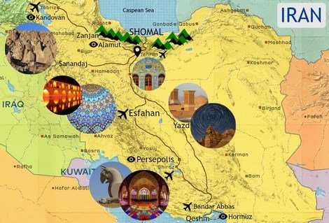 about tours to iran