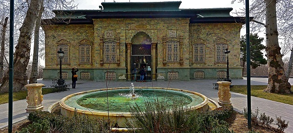 Green palace in saad abad