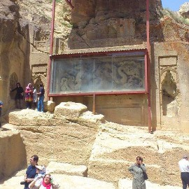 A temple such as Chinese temples style in heart of Iran، iran travel agencies ،Iran tour packages، tour operators in iran