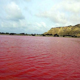 Pink Lipar lake، iran travel agencies ،Iran tour packages، tour operators in iran