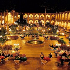 Abbasi hotel, one of the most beautiful hotels in middle east، iran travel agencies ،Iran tour packages، tour operators in iran
