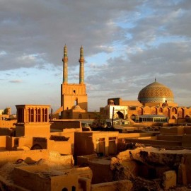 "Exciting of UNESCO evaluators of ""Yazd"" wonders، iran travel agencies ،Iran tour packages، tour operators in iran"