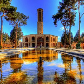 """ Dolat abad "" garden، iran travel guide، iran private tours، Holiday tour to Iran، group tours to iran"