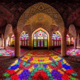 """Nasir ol Molk"" Mosque، iran travel guide، iran private tours، Holiday tour to Iran، group tours to iran"