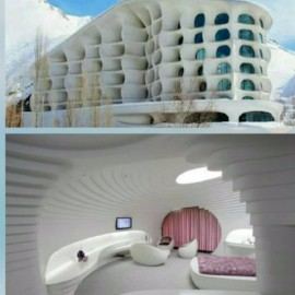 modern resort ski hotel for who want trip to Iran، iran travel agencies ،Iran tour packages، tour operators in iran