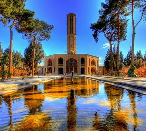 Dolatabad garden, YAZD، iran travel agencies ،Iran tour packages، tour operators in iran