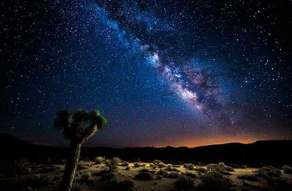 valley of stars night sky