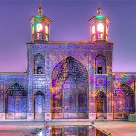 NASIROL MOLK MOSQUE, SHIRAZ، iran travel guide، iran private tours، Holiday tour to Iran، group tours to iran