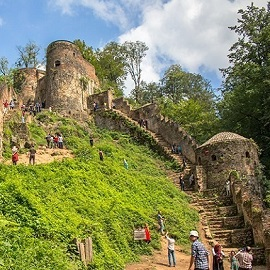 Rudkhan Castle، iran travel agencies ،Iran tour packages، tour operators in iran
