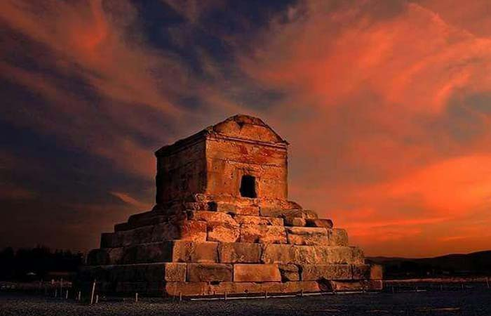 Cyrus the great's tomb