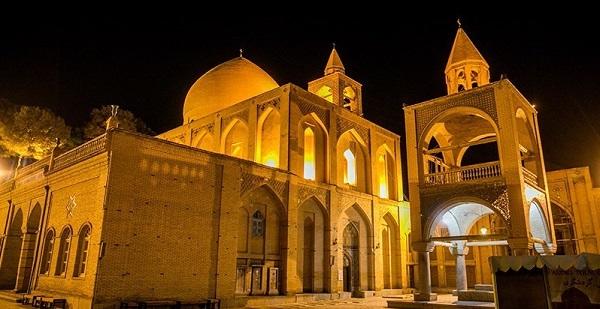 vank church in Isfahan