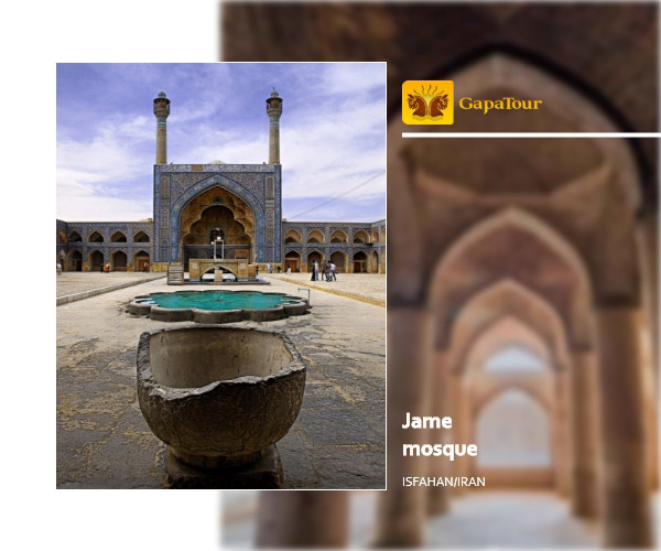 jame mosque Isfahan Iran