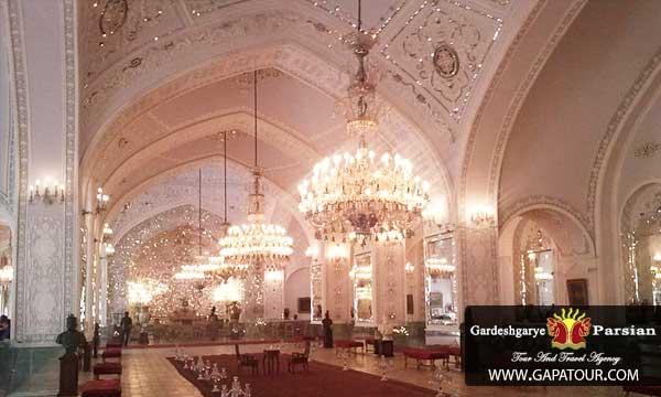 Iran Tehran Golestan palace