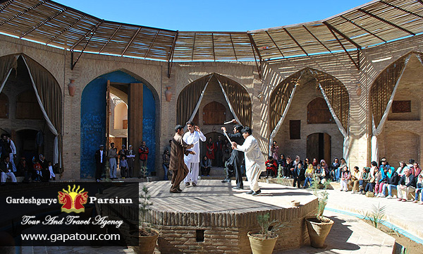 Iran Yazd Zeinoddin Caravanserai