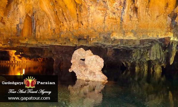 Iran Hamedan Ali-Sadr Cave