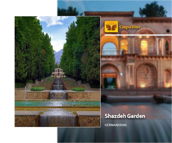Shazdeh  Garden Kerman