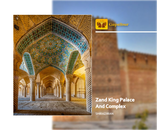 zand ling palace shiraz