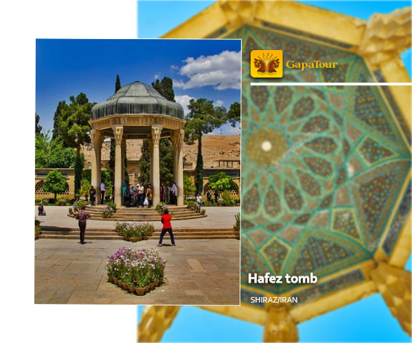 Hafez tomb shiraz